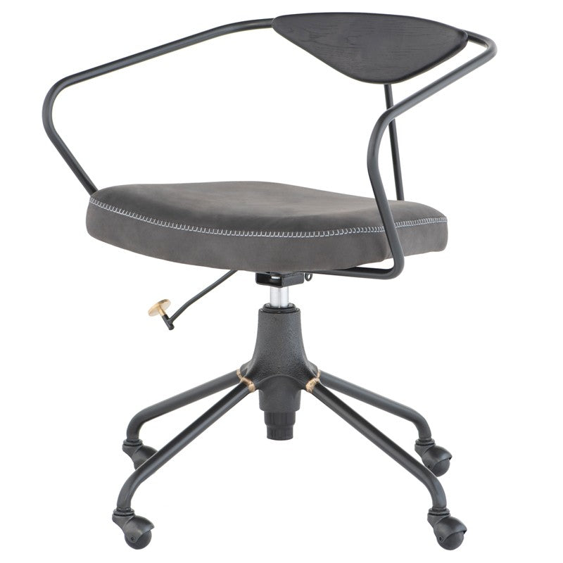 AKRON OFFICE CHAIR - STORM BLACK