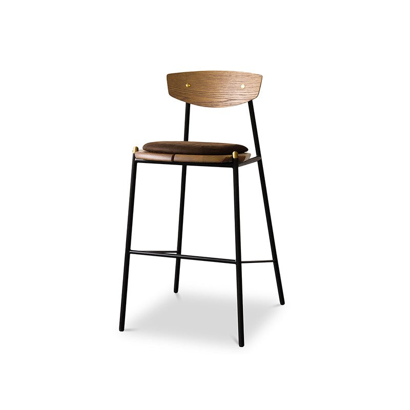 KINK BAR STOOL - SMOKED