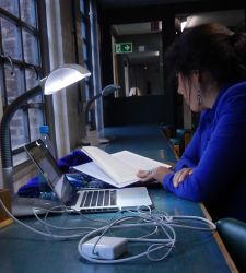 Lumie Desklamp at Cambridge University Library