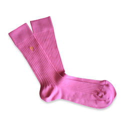 RIB SOCKS PINK LUXURY