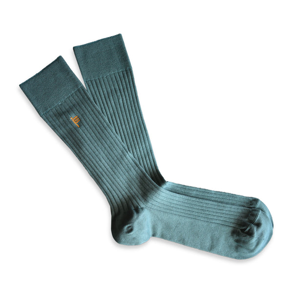 RIB SOCKS ICED MINT