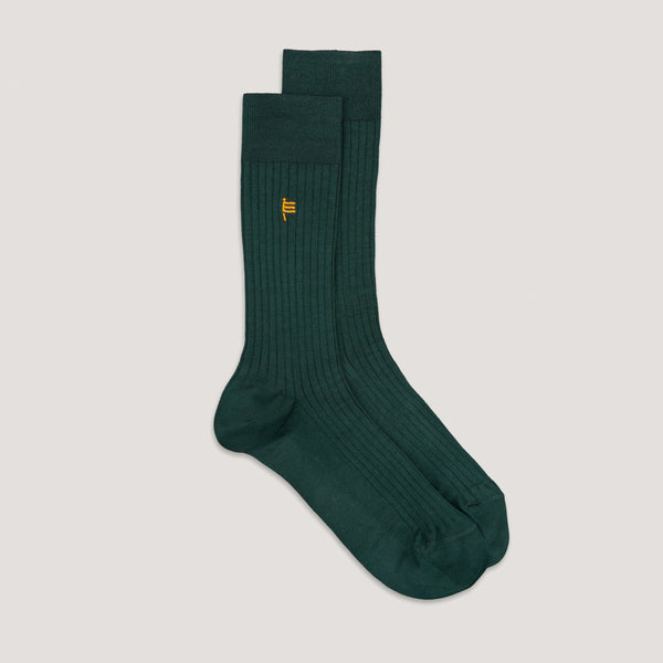 British Racing Green Socks