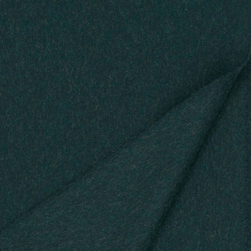 British Racing Green Camel Wool Scarf
