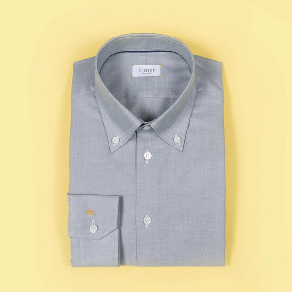 Greenish Button Down Cotton Shirt
