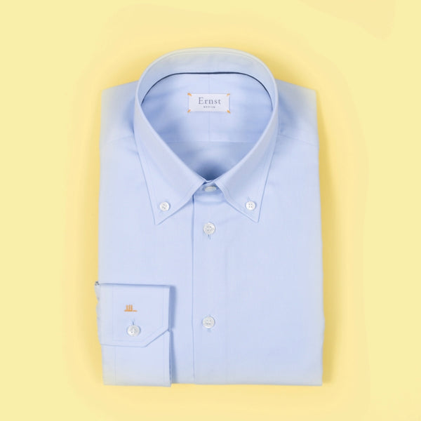 Light Blue Oxford Button Down Shirt
