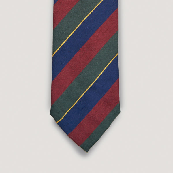 Ruby Striped Tie
