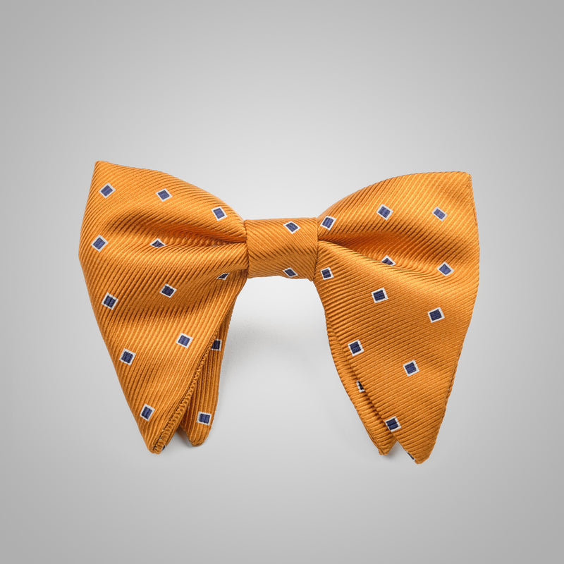 Oker Navy Dotted Bow Tie