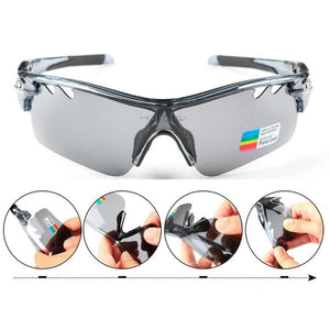 CoolChange Polarized Cycling Glasses