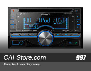 Kenwood Porsche 2005-2012 Radio with Bluetooth & USB (All 997 & 987 Models)