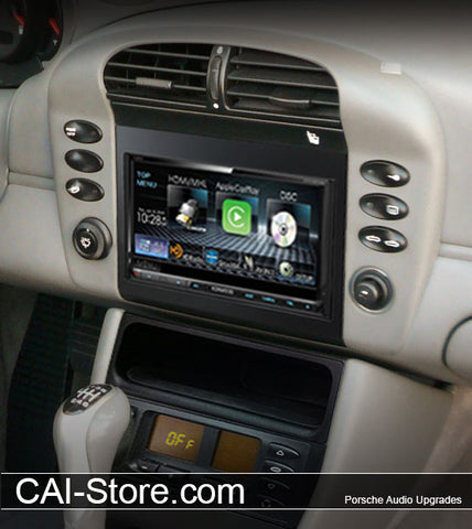 Porsche 911 & Boxster Double Din Radio Installation Parts Starting at