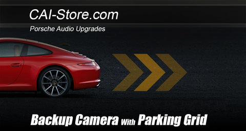 Backup camera for Porsche Upgrade Kits