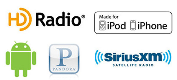 Porsche HD Radio, Ipod, Android, & Sirius/XM