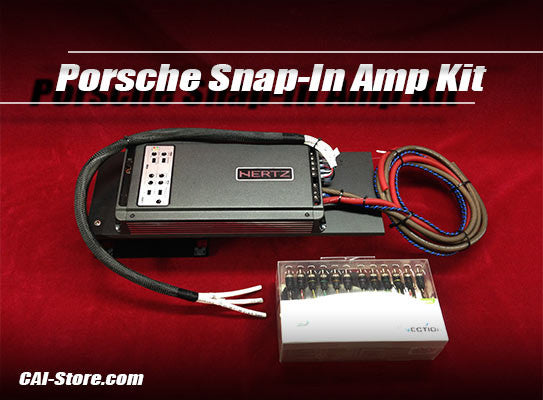 C2 Porsche 911, Boxster, Cayman Snap-In 5 Channel Amplifier Upgrade