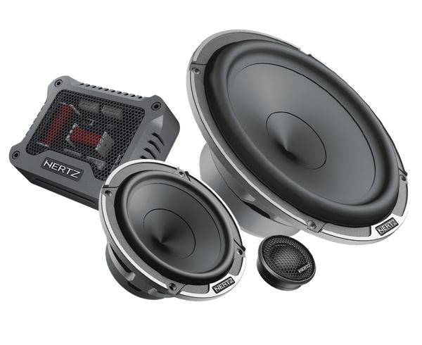 Custom Hertz Mille 3-way Speaker Set For Porsche 911, Cayman, & Boxster