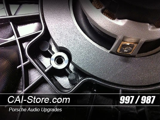 Custom Focal Speaker Set For Porsche 911, Cayman, & Boxster