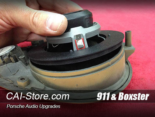 Porsche 996 Dash Speaker Adapter
