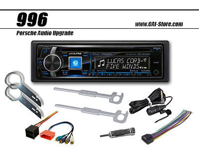 Alpine Porsche 911, 996 Radio Upgrade Kit