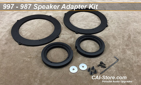 911, Boxster, & Cayman Speaker Adapter Set with Hardware