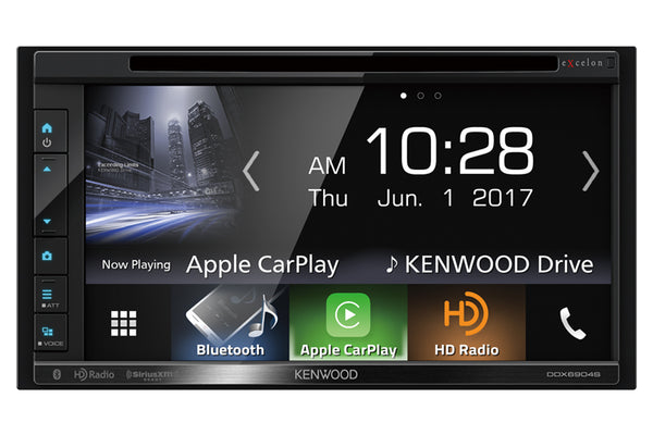 Kenwood DDX6906S headunit upgrade for 997, 987 Cayman, Boxster