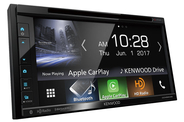 Kenwood DDX6906S Porsche headunit upgrade 986/996 with Apple CarPlay™