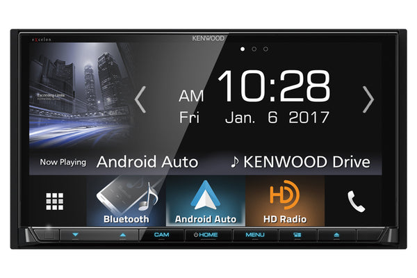 Kenwood DDX8906S headunit upgrade for 997/911, 987 Cayman, Boxster