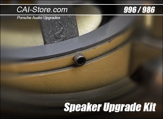 Premium Speaker Hardware for Porsche 996