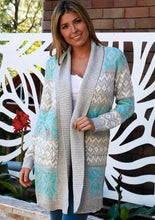 Load image into Gallery viewer, Baby Blues Cardigan