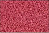 Brick Red Swatch Charisma Blanket - Maine Woolens