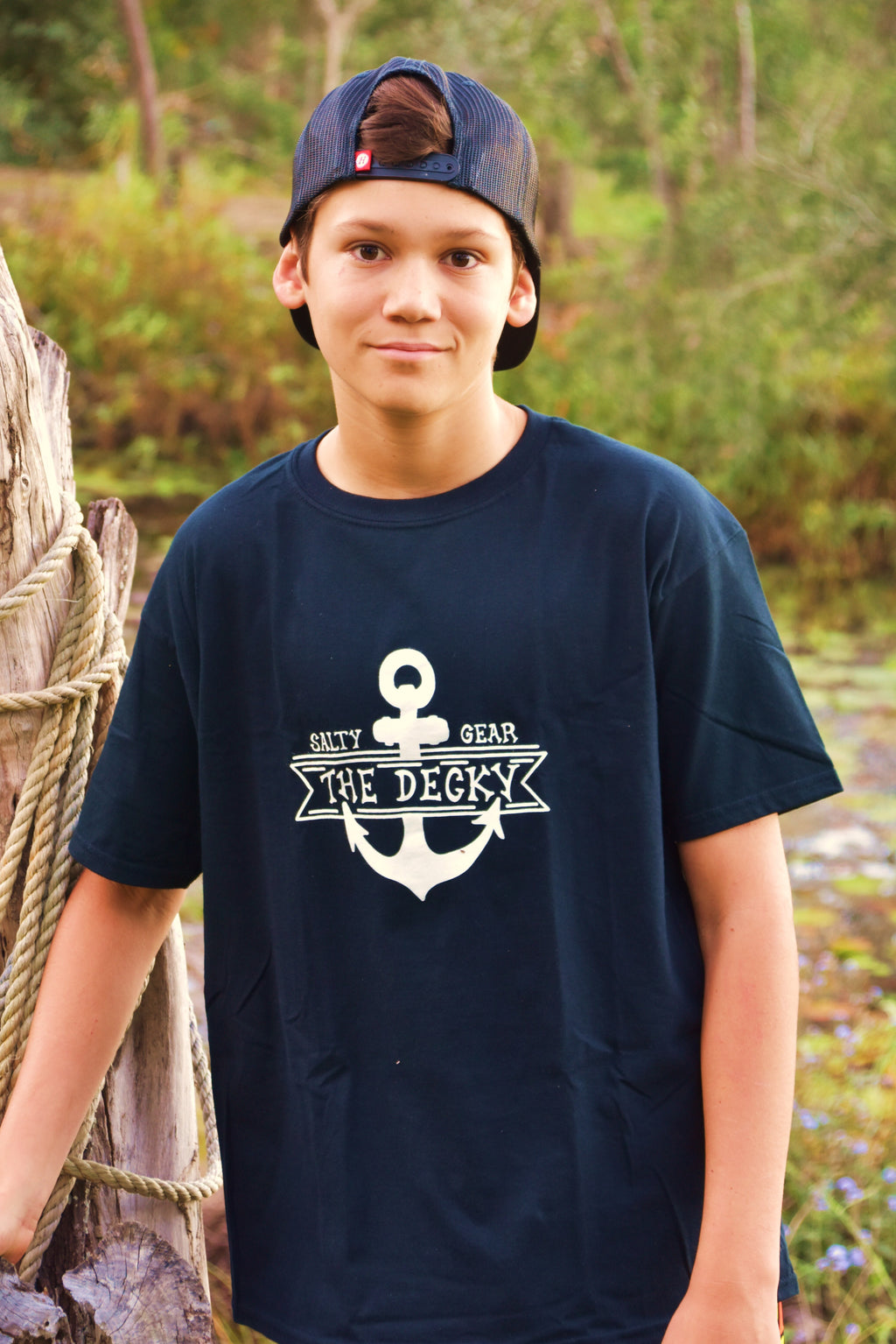 THE DECKY Short Sleeve Cotton Tshirt YOUTH