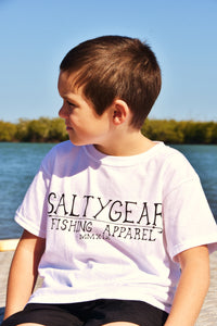 SALTYGEAR Short Sleeve Cotton Tshirt YOUTH