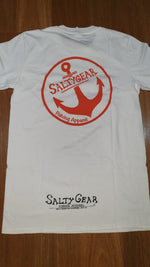 ADULT SALTYGEAR ANCHOR Orange Print Cotton Tees