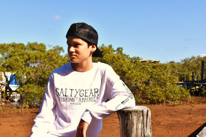 SALTYGEAR Long Sleeve Cotton Tee YOUTH