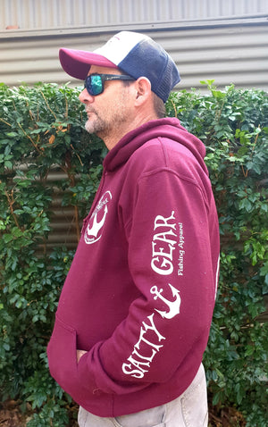 QUEENSLANDER Salty Gear HOODY Adult. PRE ORDER