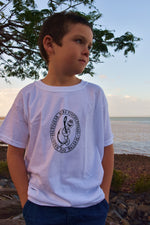 WORM ON HOOK Short Sleeve Cotton Tshirt YOUTH