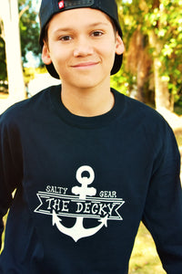 THE DECKY Long Sleeve Cotton Tee YOUTH