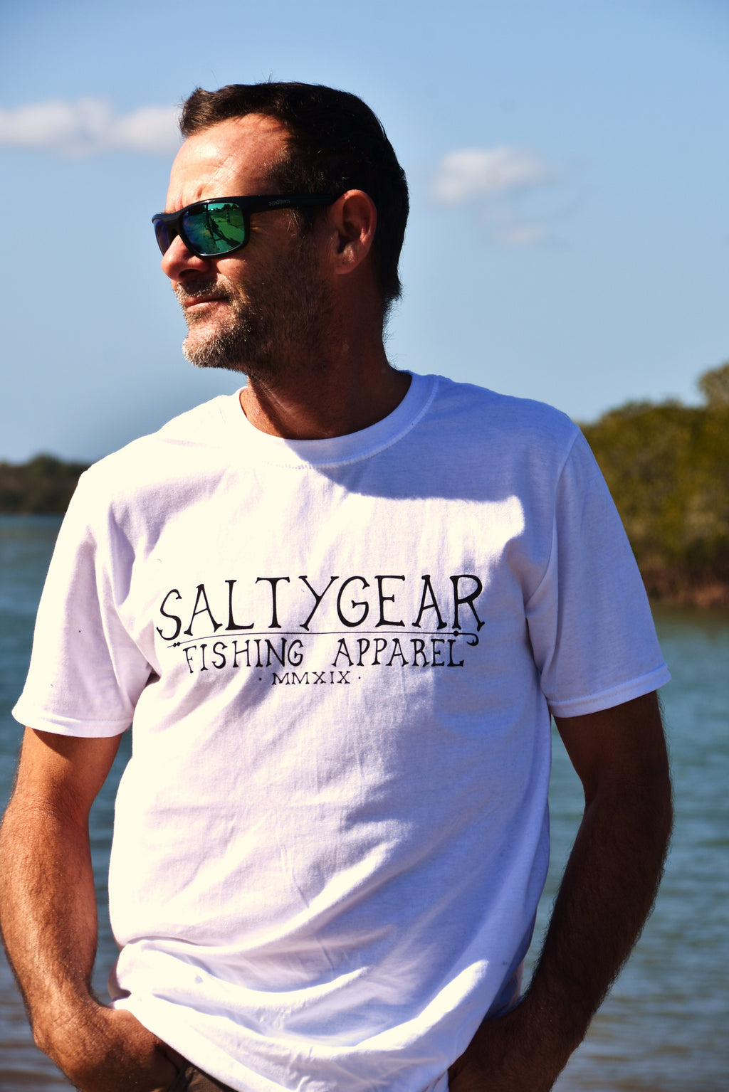 SALTYGEAR Short Sleeve Cotton Tshirt ADULT