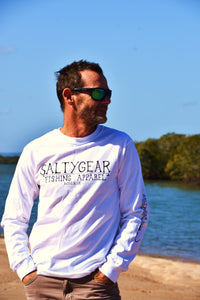 SALTYGEAR Long Sleeve Cotton Tee ADULT🔥