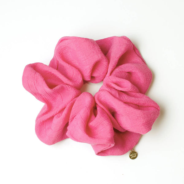 Fuchsia Oversized Scrunchie