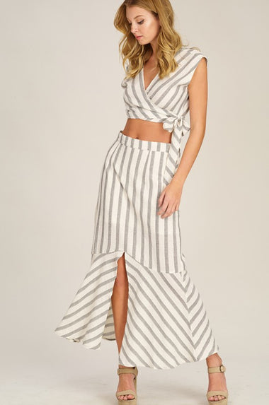 Two Piece Midi Set