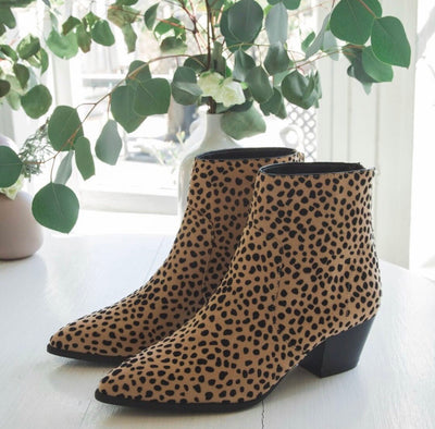 Mystique Cheetah Booties
