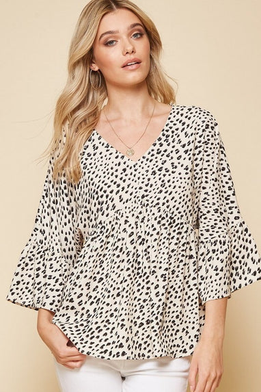 Feeling Wild Leopard Top