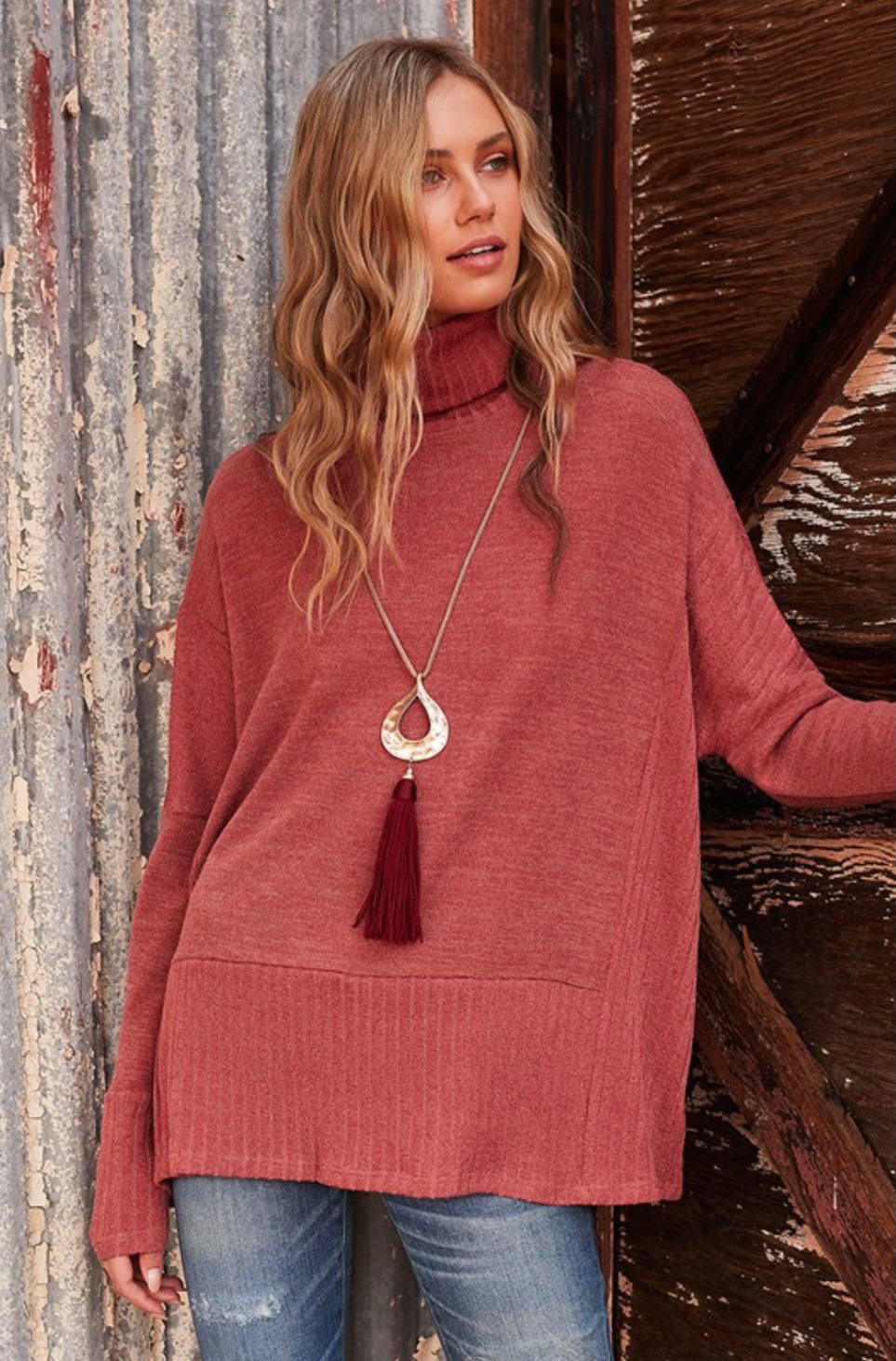 Spring Transitions Tunic Top - 2 Colors