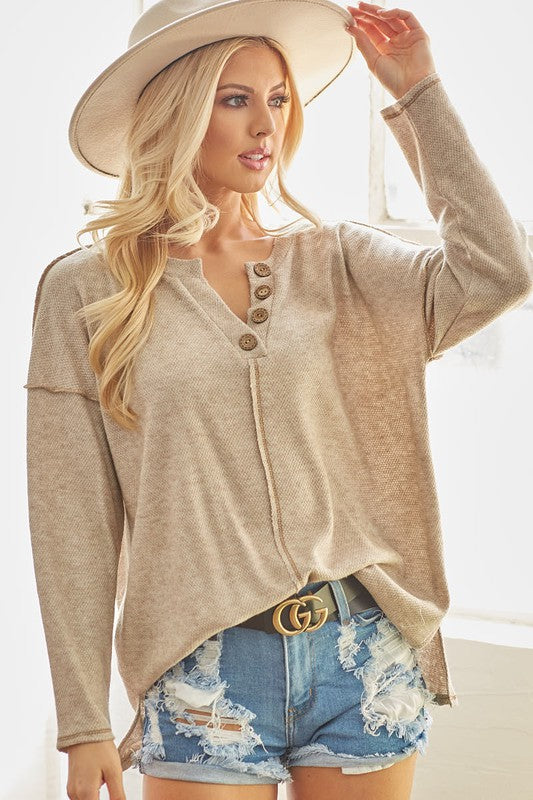 Oh What Fun Knit Top - 2 Colors