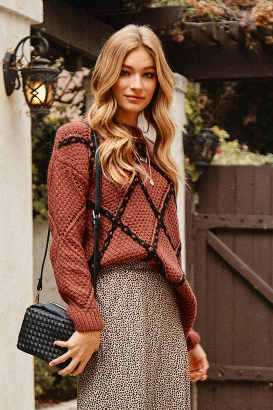 Terra Cotta Sweater