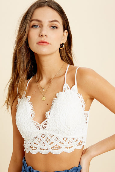 Lace Night Thoughts Bralette