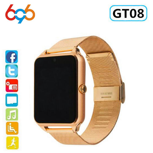 Smart Watch GT08 Plus Metal Strap - 12x R$ 11,65