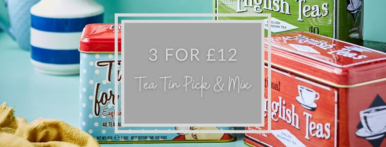 3 for £12 Tea Tin Pick & Mix