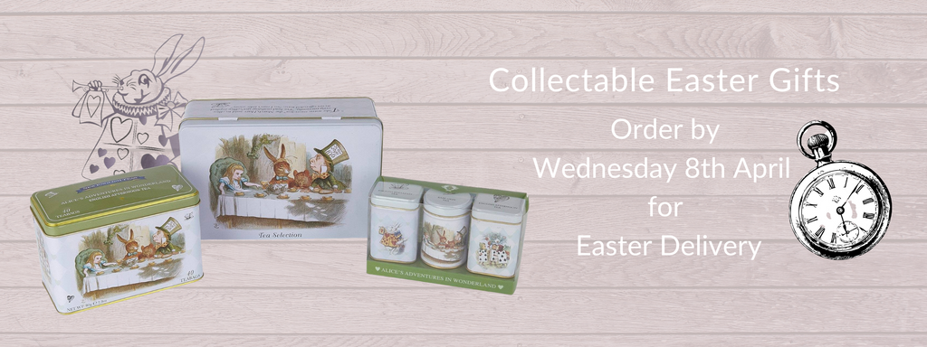 Tea Tin Gifts for Easter