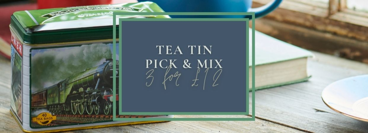 Tea tin pick & mix, 3 for £12