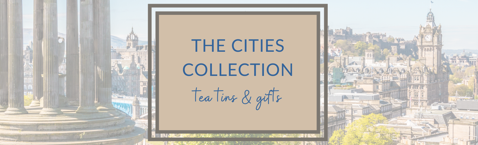 The Cities Collection. Gift Tea Tins & Caddies
